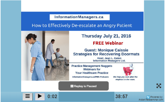 How to effectively de-escalate an angry patient